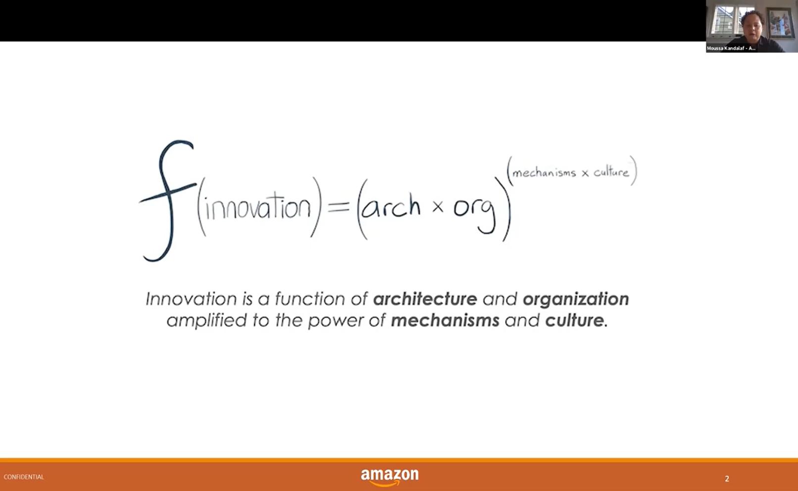 La fórmula de Amazon para innovar